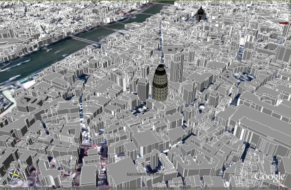 london in google earth