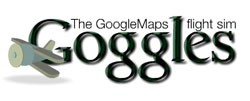 Googles - The Google map flight sim